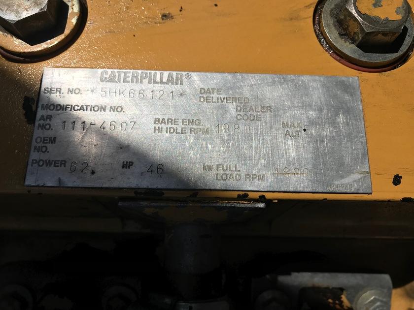 1998 Caterpillar 307