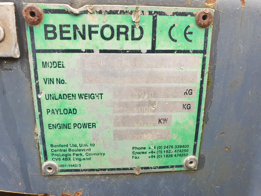 2007 Benford 6005CTFLLA