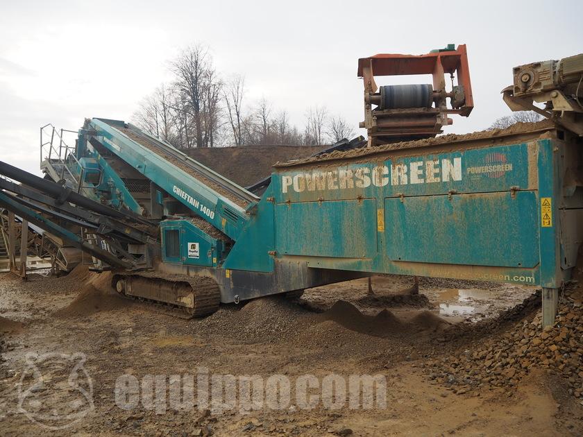 2014 Powerscreen Chieftain 1400
